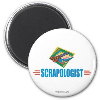 Humorvolles Scrapbooking Runder Magnet 5,1 Cm