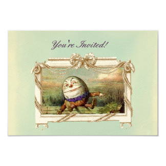 Humpty Dumpty 8,9 X 12,7 Cm Einladungskarte