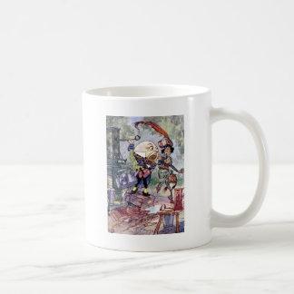 Humpty Dumpty erhalten Loud im Märchenland Kaffeetasse