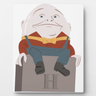 Humpty Dumpty Fotoplatte