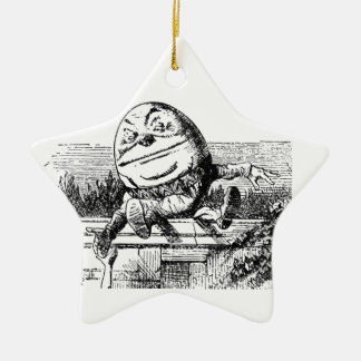 Humpty Dumpty Keramik Ornament