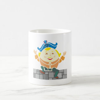 Humpty Dumpty sat on a wall... Kaffeetasse