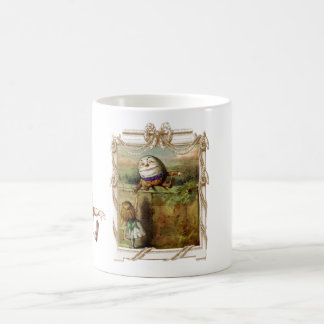 Humpty Dumpty und Alice Kaffeetasse
