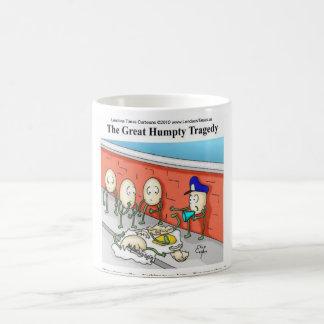Humpty Dumpty Untersuchungs-lustige Geschenke Kaffeetasse