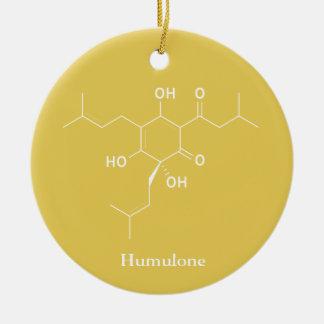 Humulon-Molekül-Chemie-Bier-Liebhaber Keramik Ornament