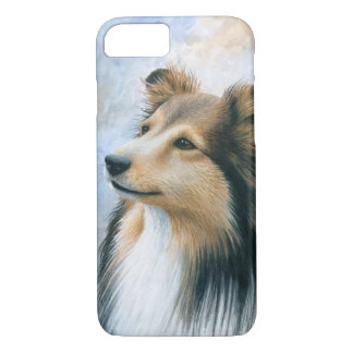 Hund122 Sheltie Collie-Fall für Iphone 6 iPhone 8/7 Hülle