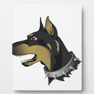Hund 96Angry _rasterized Fotoplatte