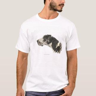 Hund auf Weiß 11 T-Shirt