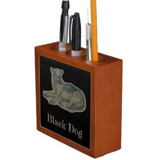 Hund. Bleistiftzeichnung Stifthalter