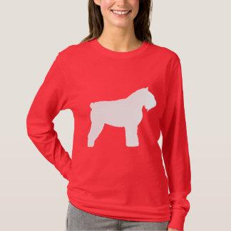 Hund Bouvier DES Flandres (im Weiß) T-Shirt