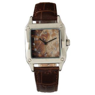 Hund Cocker spaniel Armbanduhr