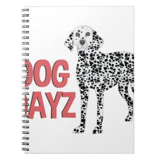 Hund Dayz Spiral Notizblock