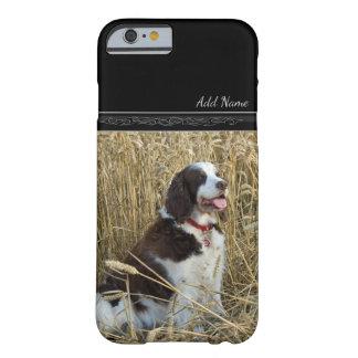Hund, der Feld-im kundenspezifischen Barely There iPhone 6 Hülle