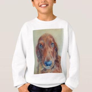 Hund des roten Setzers Sweatshirt