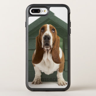 Hund durch Doghouse OtterBox Symmetry iPhone 8 Plus/7 Plus Hülle