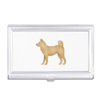 Hund - Emoji Visitenkarten Etui