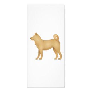 Hund - Emoji Werbekarte