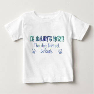 Hund farted baby t-shirt