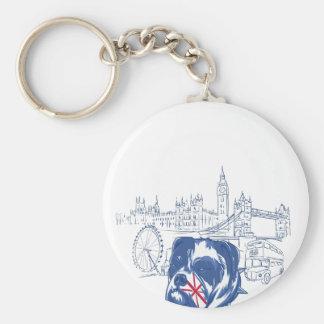 Hund im Vereinigten Königreich Schlüsselanhänger