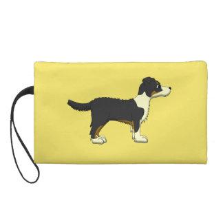 """Hund """"Ingwer """" Wristlet Handtasche"""