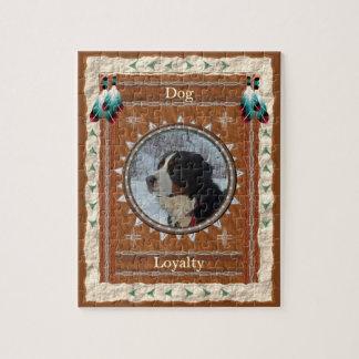 Hund - Loyalitäts-Puzzle mit Kasten Puzzle