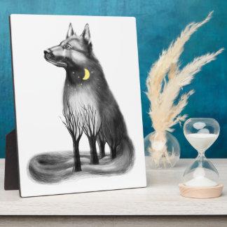 Hund - Maskottchen, Grafiken Fotoplatte
