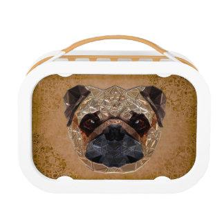 Hund Mozaic Brotdose