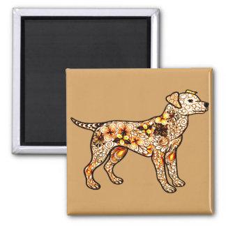 Hund Quadratischer Magnet