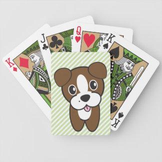 Hund Rockets Cartoons™ - Bentley Bicycle Spielkarten