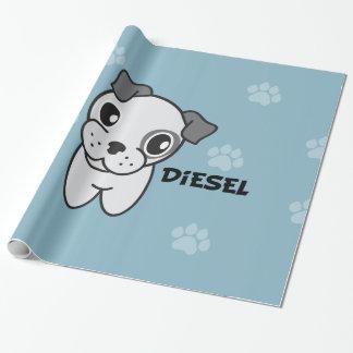 Hund Rockets Cartoons™ - Diesel Geschenkpapier
