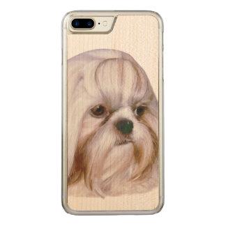 Hund Shih Tzu Carved iPhone 8 Plus/7 Plus Hülle