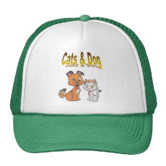 , Hund und Katze Baseballmütze