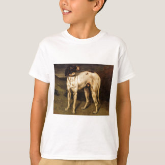 Hund von Ornans durch Gustave Courbet T-Shirt