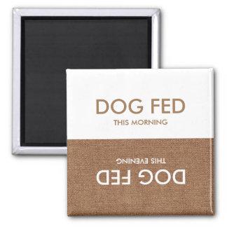 Hund zuletzt gefüttert… Abends-u. Quadratischer Magnet