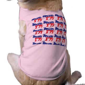 Hündchen-Abstimmung Demokrat T-Shirt