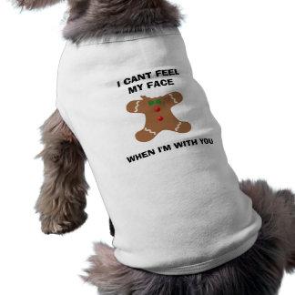 Hündchen-gewelltes Trägershirt Top