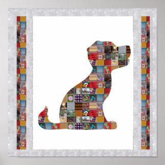 Hündchen-Haustier-Tierkünstlerische Billig-Kinder Poster