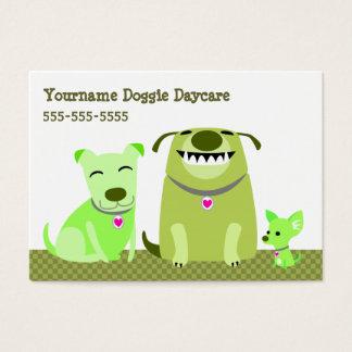 Hündchen-Kindertagesstätte/Hundewanderer Visitenkarte