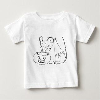 Hündchen-Trick oder Leckerei Baby T-shirt