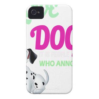 Hunde der Liebe I ist es Leute, die mich stört iPhone 4 Hülle