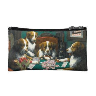 Hunde, die Zippered Geld-Tasche Milliamperestunde Makeup-Tasche