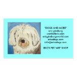 Hunde durch Eric ginsburg Visitenkartenvorlagen
