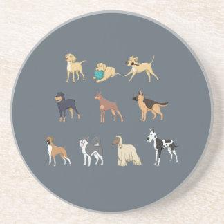 Hunde Getränkeuntersetzer