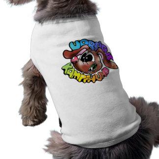 hunde hund Hund verfolgt dackel T-Shirt T - Shirt