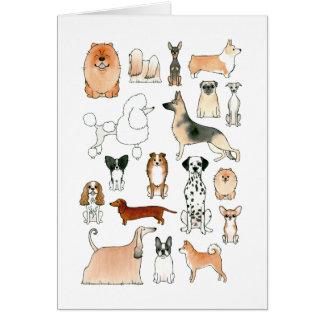 Hunde Karte