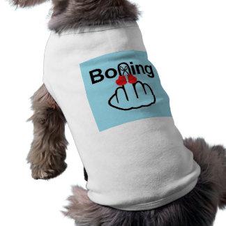 Hunde-Kleidungs-Verpacken drehen um T-Shirt