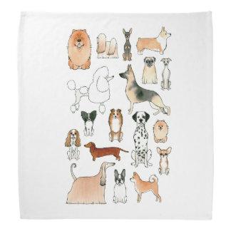 Hunde Kopftuch