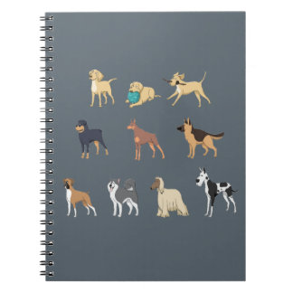 Hunde Notizblock