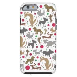 Hunde und Balltelefonkasten Tough iPhone 6 Hülle