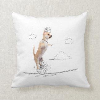 Hunde und Gekritzel - Hündchen-festes Seil-Kissen Kissen